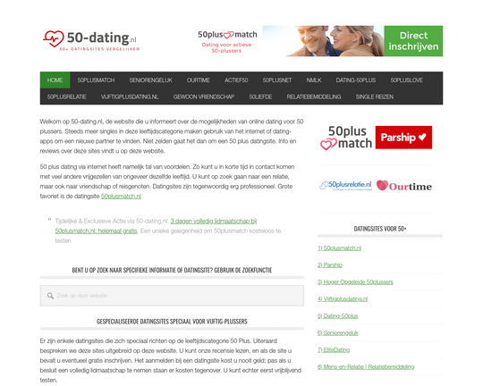 50 Dating Logo